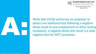 Can an Employer Refuse to Hire Based On Negative Dilute Test Results?