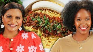 Mindy Kaling And Hawa Hassan Make Spicy Somali Pasta