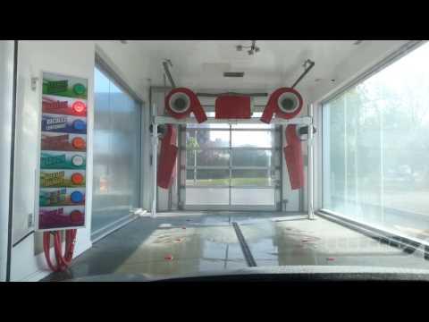 Shell Gas Station Car wash.