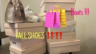 Huge Just Fab Fall Shoe Haul ! 🧡🍂 |Vlogtober Day 2