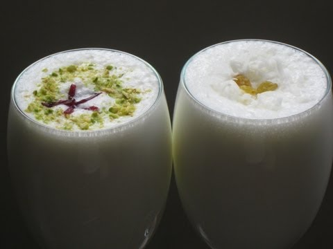 Video Lassi ( Indian yogurt drink ) recipe