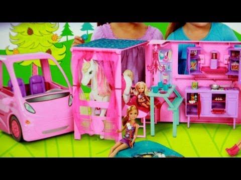RV Vehicle / Kamper Barbie - Barbie i Jej Siostry w Krainie Kucyków - Mattel