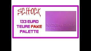 ICH HABE EIN 133 EURO FAKE PALETTE BEI FEELUNIQUE  GEKAUFT! WIE ERKENNE ICH EIN ND FAKE!?