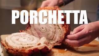 HOW TO MAKE PORCHETTA - Pork Roast Crispy Skin Recipe