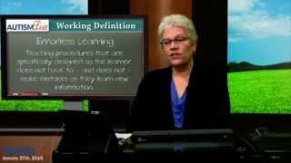 ABA Jargon: Errorless Learning