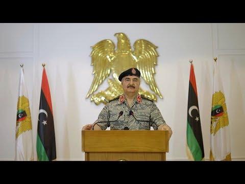 خليفة حفتر يهدد باكتساح العاصمة طرابلس ويتوعد تركيا