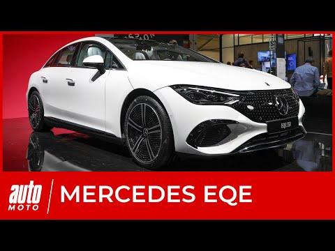 Mercedes EQE : les détails sur la berline électrique au salon de Munich