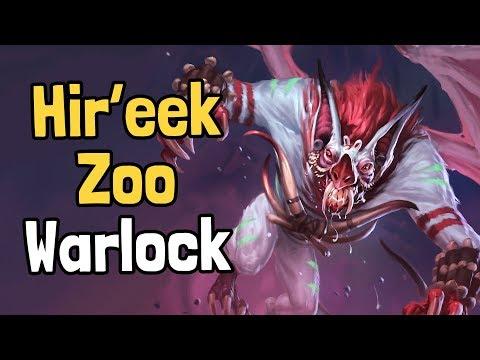 Hir'eek Zoo Warlock Decksperiment - Hearthstone
