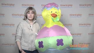 Airblown Inflatable Easter Chick from Gemmy Industries