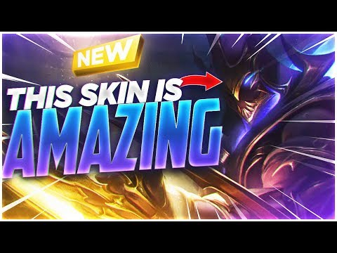 LL STYLISH | NEW GALAXY SLAYER ZED SKIN IS AMAZING!!!
