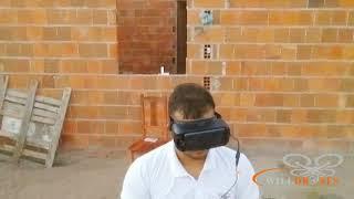Drone tello fpv/óculos samsung gr/controle ípega