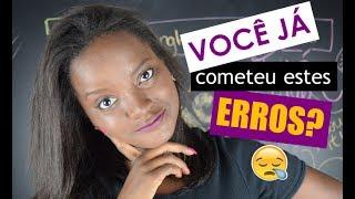 10 ERROS COMUNS NO INGLÊS BÁSICO