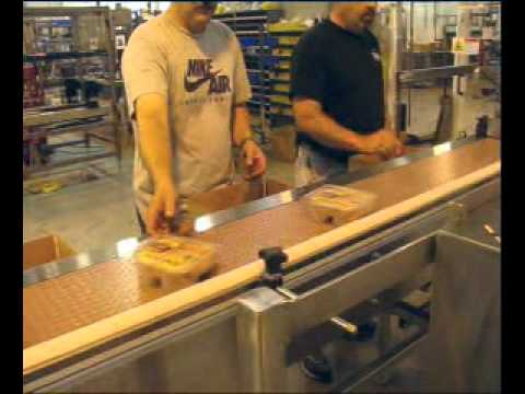 E2500 SSTL Deli Container Hand Packing Station