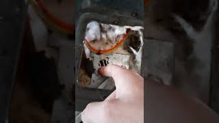 How to fix the unlock door warning on a GE electric oven