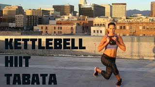35 Minute Kettlebell Tabata HIIT Workout--Strengthen and Tone with Intervals by BodyFit By Amy