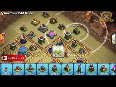 Download Top 3 New Th12 War Base 2018 Layout Best Town Hall 12 War