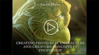 "Aaron Blaise ""Creating Photo Real Creatures in Photoshop"" - Adobe Max Session 2014"