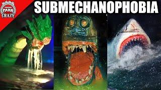 Top 10 SCARIEST Underwater Animatronics - Submechanophobia