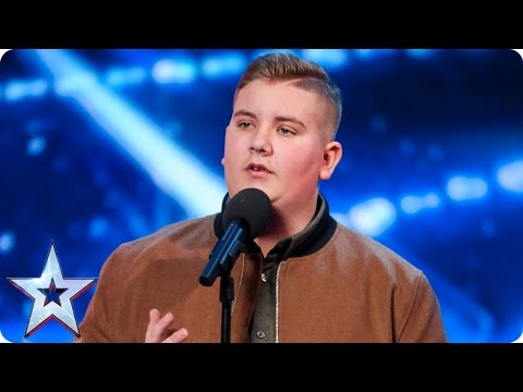 Golden Buzzer act Kyle Tomlinson proves David wrong   Auditions Week 6  Britain's Got Talent 2017 (видео)