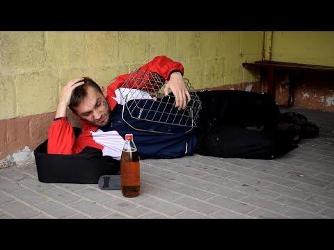 I przestał pić i stał się nerwowy