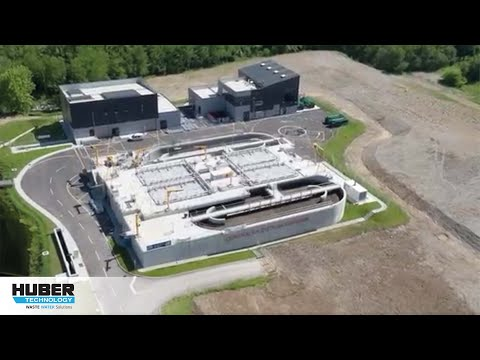Video: HUBER Belt Dryer BT for high efficiency sewage sludge drying