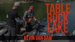 Going DEEP with Topwater with Kevin VanDam