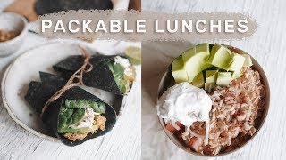 Healthy Lunches For Work & School / EASY, QUICK Meal Prep Ideas