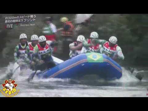 Rio Abaixo Rafting Masters no Mundial do Japão 2017 categoria Sprint