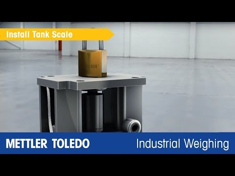 How to Install Tank Scales Quickly, METTLER TOLEDO