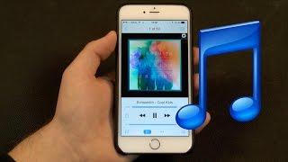 Скачать музыку на iPhone бесплатно