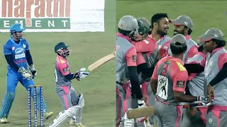 Excellent Boundary Shot By Kerala Strikers To Win Over Mumbai Heroes