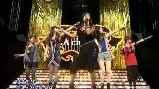F(x) - La Cha Ta (에프엑스 - 라차타) @ SBS Inkigayo 인기가요 090906