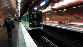 preview picture of video '[Paris] MP73 Métro 11 - Arts et Métiers'