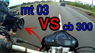 MT03 VS CB 300