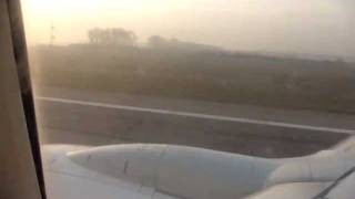 preview picture of video 'EgyptAir take off from Almaty'