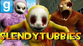 SLENDYTUBBIES IN GMOD?! | Garry's Mod Sandbox Fun