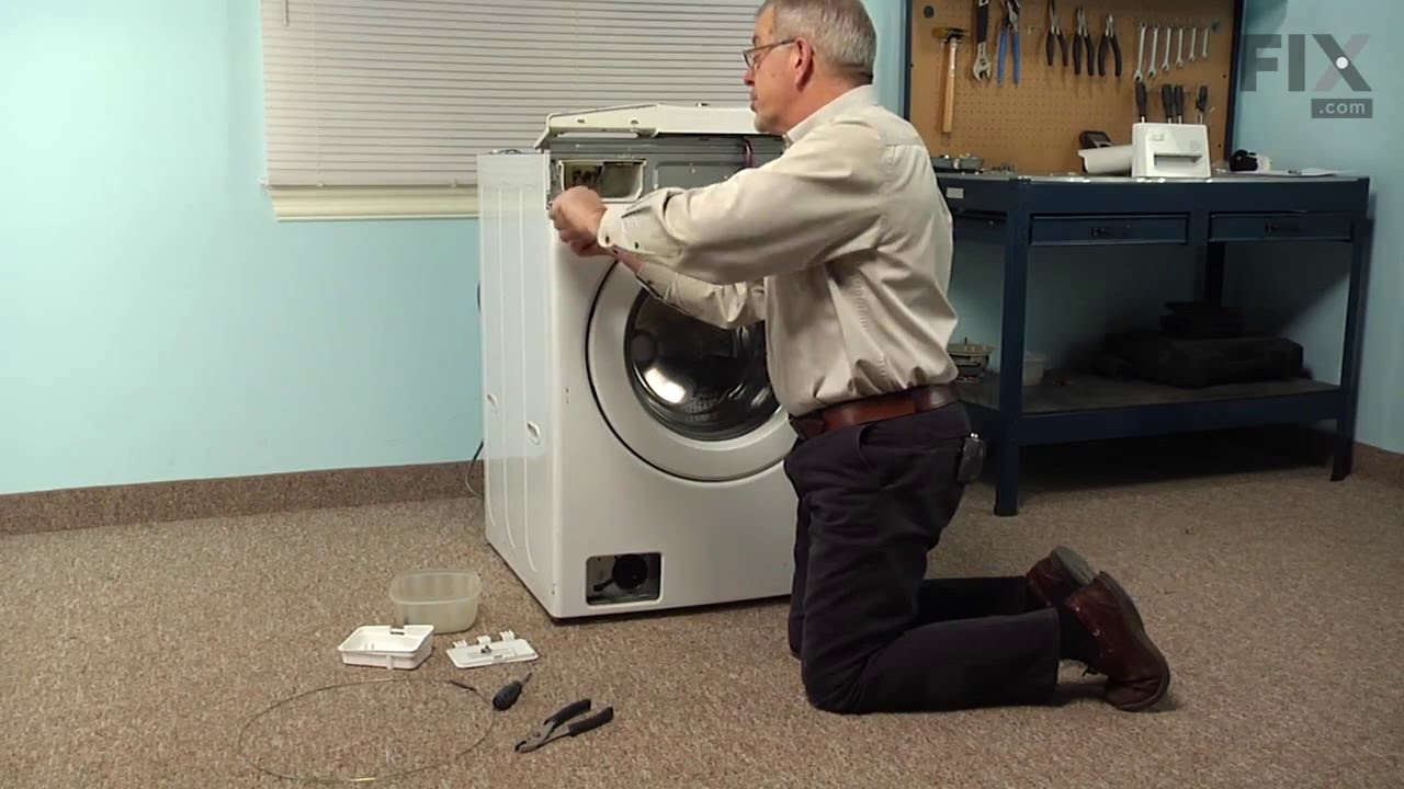 Replacing your LG Washer Washing Machine Drain Pump and Motor Assembly