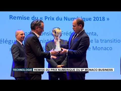 Technology: presentation of the 6th Monaco Business Digital Prize