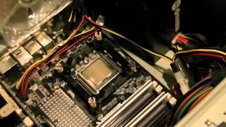 Deep Cool Gammax 200 CPU Cooler Review and Installation - Самые