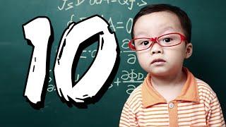 10 wybitnych dzieci geniuszy [TOPOWA DYCHA]