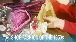 Shoes Of Tomorrow: 1950s Fashion & Designers (1957) | British Pathé