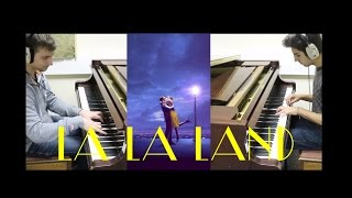 La La Land Theme 4 Hand Piano Cover || Atomic Melody