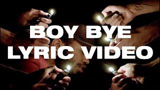 BROCKHAMPTON   BOY BYE (Lyric Video)