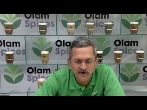 Mr Ravindranath Balakrishnan, Vice President, Olam International ltd