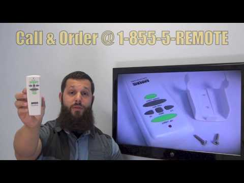 Buy Hampton Bay Uc7080t Ceiling Fan Remote Control