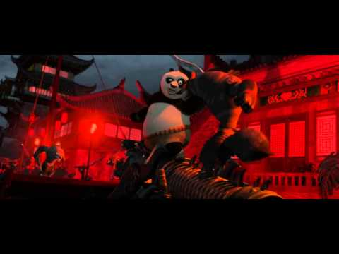 Kung fu panda 2-Battle between Po and Shen's army