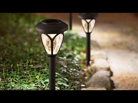 Lampa Solara LED tip Stalpisor cu Plexiglas