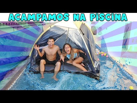 ACAMPAMOS NA PISCINA! - KIDS FUN