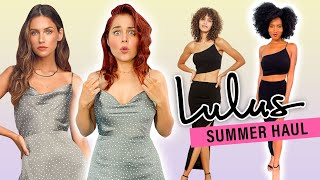 Massive Clothing Haul From Lulus! *BRUTALLY Honest Review* by Clevver Style