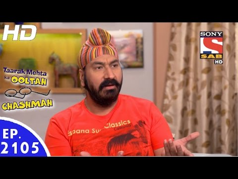 Download Taarak Mehta Ka Ooltah Chashmah - तारक मेहता - Episode 2105 - 30th December, 2016 HD Mp4 3GP Video and MP3